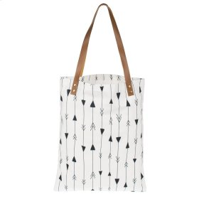 Grey Arrows Tote.