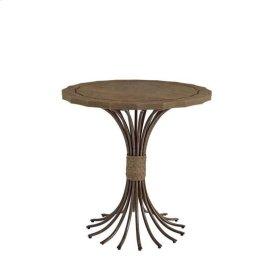 Resort Eddy's Landing Lamp Table In Deck