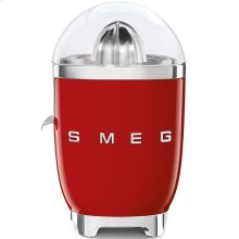 Smeg 50s Retro Style Design Aesthetic Citrus Juicer, Red