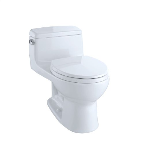 Eco Supreme® One-Piece Toilet, 1.28 GPF, Round Bowl - Cotton