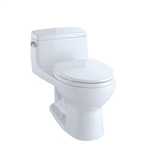 Eco Supreme® One-Piece Toilet, 1.28 GPF, Round Bowl - Cotton