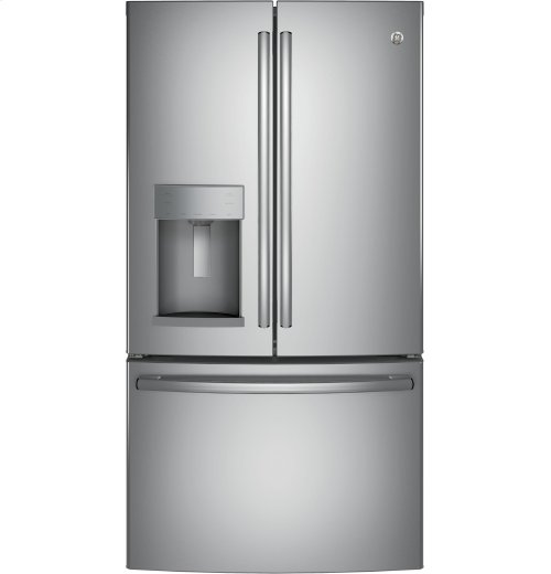 GE® ENERGY STAR® 27.8 Cu. Ft. French-Door Refrigerator - CLEARANCE ITEM