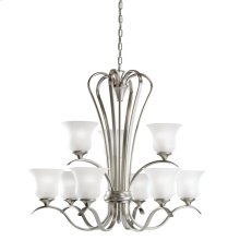 Wedgeport 9 Light Chandelier Brushed Nickel