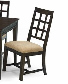 Side Chairs 2 P/ctn - Walnut Finish