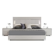 Modrest Ethan Italian Modern Grey Bed