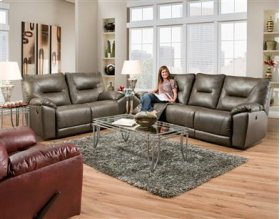 Double Power Reclining Sofa