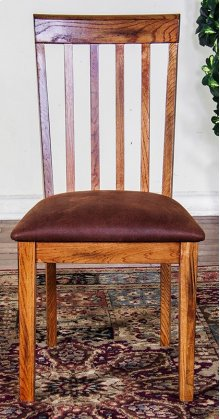 Sedona Slatback Chair W/cushion Seat