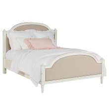 Tan Sisters Upholstered Queen Bed