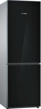"800 Series 24"" Glass Door Counter-Depth Bottom Freezer B10CB80NVB 800 Series Product Image"