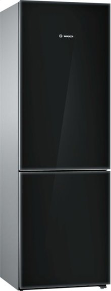 "800 Series 24"" Glass Door Counter-Depth Bottom Freezer B10CB80NVB 800 Series"