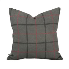 "16"" x 16"" Pillow Oxford Charcoal Product Image"