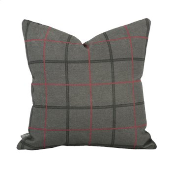 """16"""" x 16"""" Pillow Oxford Charcoal Product Image"""