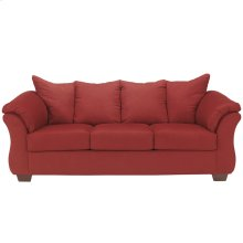 Signature Design by Ashley Darcy Sofa in Salsa Microfiber [FSD-1109SO-RED-GG]