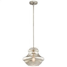 Everly Collection Everly 1 Light Pendant (42044NIMER) 1 Light Pendan