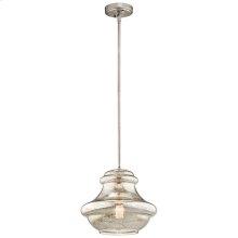 Everly Collection Everly 1 Light Pendant (42044NIMER) 1 Light Pendan