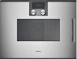 200 Series Speed Microwave Oven Full Glass Door In  Metallic Left-hinged Controls On Top