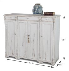 White Swan Tall Cabinet