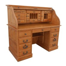 """54"""" Deluxe Roll Top Desk"""