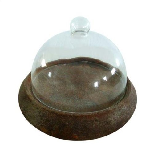 Decorative Plate with Glass