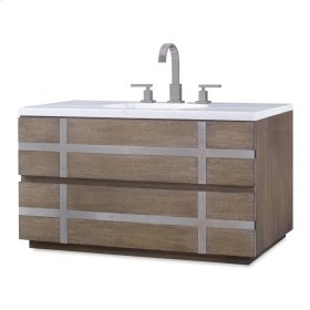 Thompson Wall Sink Chest - Octo Finish