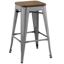 Promenade Counter Stool in Gunmetal
