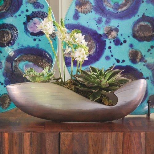 Platinum Stripe Bowl