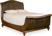 Ernest Hemingway® Aberdare Sleigh Bed (Queen)