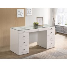 Avery Vanity Base White