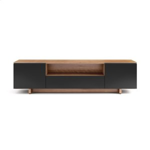 Bdi FurnitureQuad Width Cabinet 8239 in Natural Walnut