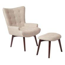 Dalton Chair With Ottoman