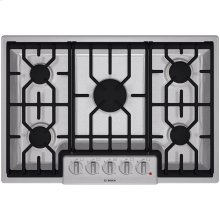 "30"" Gas Cooktop 800 Series - Stainless Steel"