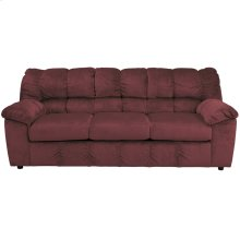 Signature Design by Ashley Julson Sofa in Burgundy Fabric