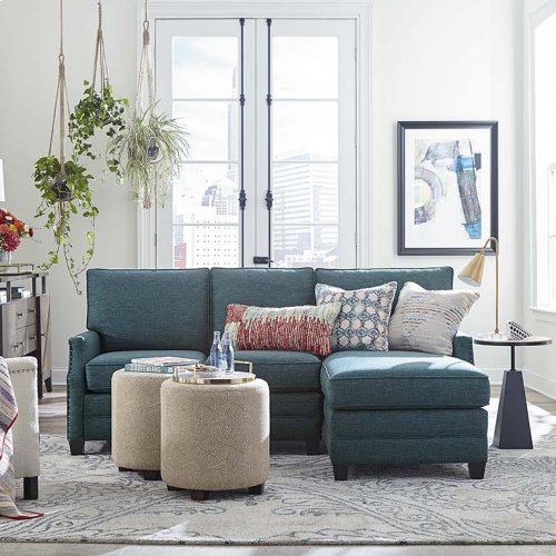 Studio Loft Cleo Small L-Shaped Sectional