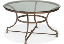 Vintage Chateau Round Cocktail Table
