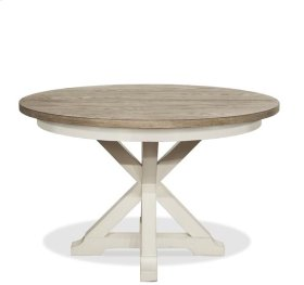 Myra Table Base 46 lbs Natural/Paperwhite finish