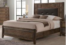 Englewood Queen Upholstered Panel Bed