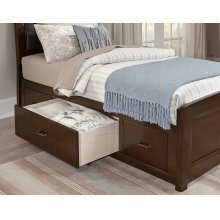 Upholstered Storage Bed (available in 3/3 or 4/6)