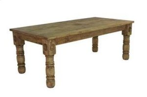 8' Wood Table W/Star
