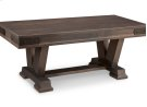 "Chattanooga 48"" Pedestal Bench in Fabric or Bonded Leather Product Image"