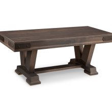 "Chattanooga 48"" Pedestal Bench with Wood Seat"
