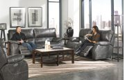 Power Headrest Power Lay Flat Reclining Sofa Product Image