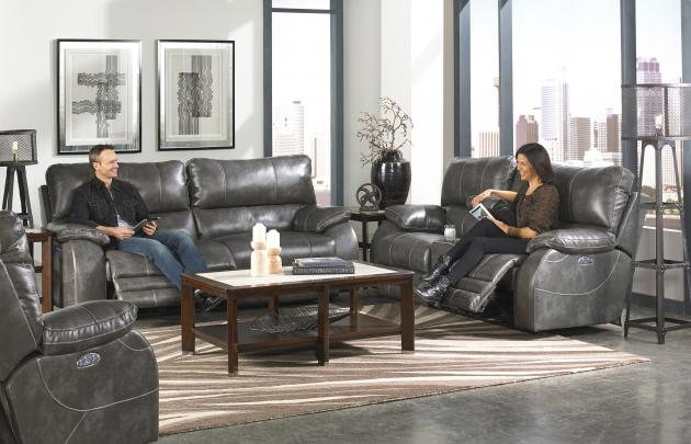 Power Headrest Power Lay Flat Reclining Sofa & 64271 in by Catnapper in Rolla MO - Power Headrest Power Lay Flat ... islam-shia.org
