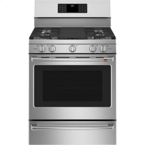 "GE30"" Smart Free-Standing Gas Range with Convection"