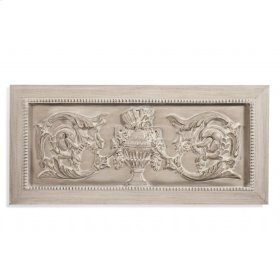 Weathered Urn Wall Plaque