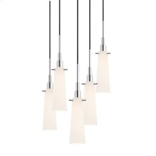Candela Tapered 5-Light Pendant