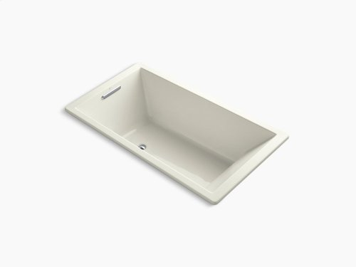 """Biscuit 66"""" X 36"""" Drop-in Vibracoustic Bath With Bask Heated Surface"""
