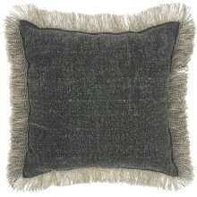 "Life Styles Gt060 Charcoal 16"" X 16"" Throw Pillows"