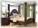North Shore - Dark Brown 5 Piece Bed Set (Cal King) Product Image