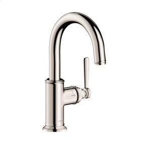 Polished Nickel AXOR Montreux Bar Faucet, 1.5 GPM