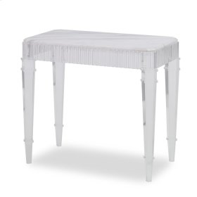 Fluted End Table